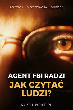 Radzi agent FBI - Rośnij w Siłę Personal Development, Hand Lettering, Life Hacks, Writer, Mindfulness, Relationship, Technology, Education, Reading
