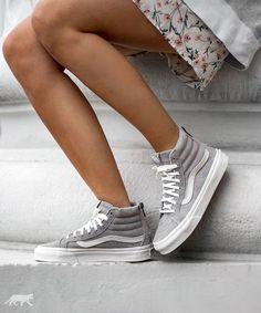 Sneakers femme - Vans SK8-Hi Slim Zip Scotchgar (©asphaltgold_sneakerstore)