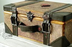 Retro Kraft Shop: Retro Inspiracje: Walizka podróżnika / Retro Inspirations: Traveler suitcase