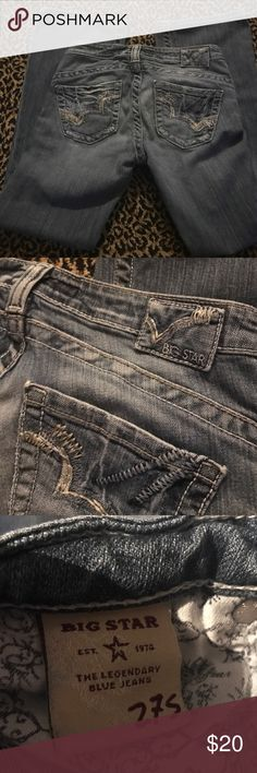 Big star jeans Great condition Casey K Low rise fit 28 inch inseam Big Star Jeans Boot Cut