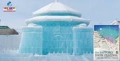 Em sua 68ª edição, o Sapporo Yuki Matsuri é o maior festival de neve do Japão. Confira mais detalhes!