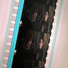Harry Potter Recycled Film Strip Bookmark by StalkingMarla on Etsy