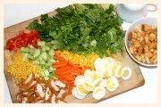 giant family salad