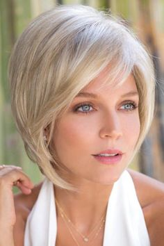 Wig Features: Partial Mono   Video of Reese One of Noriko's best selling wigs is now available in a partial monofilament cap. This sassy bob has tousled layers