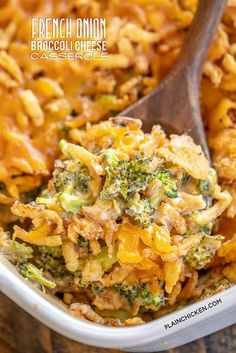 Million Dollar Chicken Casserole - Plain Chicken Vegetable Side Dishes, Side Dishes Easy, Side Dish Recipes, Vegetable Recipes, Dinner Recipes, Broccoli Recipes, Dinner Ideas, Onion Casserole, Broccoli Cheese Casserole