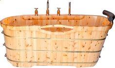 Wooden Bathtubs - Easy Home Concepts