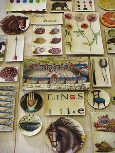 I love John Derian and have been dying to purchase some of his wonderful decoupage for years now.  Next time I go to NYC I will be hitting his shop for sure.