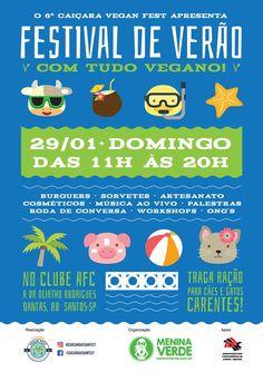 Santos recebe 1º Festival Vegano de Verão http://firemidia.com.br/santos-recebe-1o-festival-vegano-de-verao/
