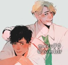 Albus and Scorpius Harry Potter Curses, Harry Potter Cursed Child, Harry Draco, Harry Potter Ships, Harry Potter Images, Harry Potter Anime, Harry Potter Fan Art, Harry Potter Fandom, Harry Potter World