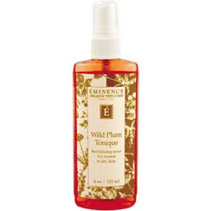 Wild Plum Tonique... instant facial. This amazing stuff has changed my life.
