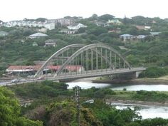 Port Alfred, Alfred road, East Bank, the bridge over the river and the ski boat club are part of the view. Ski Boats, Over The River, Homeland, Live, Places Ive Been, South Africa, Around The Worlds, Bridges, Travel