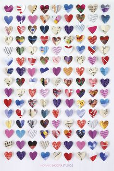 Poster of the week: 30.07.12 - PP32895 - Paper Hearts