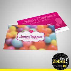 Deu Zebra no cartão de visitas! #Zebra #cartão #publicidade #marketing #mkt #job #off #agência #Tupã