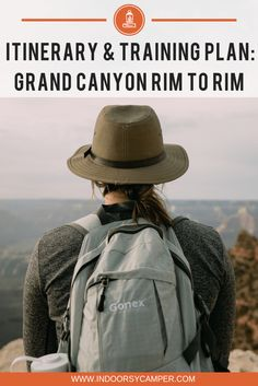 Everything you need to know for this Grand Canyon bucket list hike. Itinerary and training plan for hiking the Grand Canyon Rim to Rim hike. National Park Camping, National Parks Usa, Arizona Road Trip, Arizona Travel, Hiking Training, Training Plan, Train Travel, Travel Usa, Travel Tips
