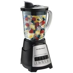 Hamilton Beach Power Elite Multi-Function Blender with Glass Jar (58148A) ** For more information, visit image link.