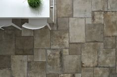Porcelain stoneware flooring HERITAGE by Ceramica Fioranese Basement Flooring, Outdoor Flooring, Flooring Ideas, Kitchen Tiles, Kitchen Flooring, Floor Design, Tile Design, Deco Font, Clay Tiles