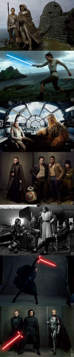 Star Wars: The Last Jedi photos by Anne Leibovitz for Vanity Fair