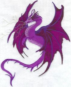 lightning dragon | LIGHTNING DRAGON Machine Embroidered Quilt by AzEmbroideryBarn