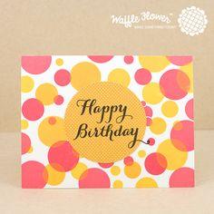 Shower Stamp Set – Waffle Flower Crafts