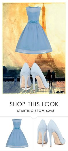 """""""paris"""" by xmattanjax ❤ liked on Polyvore featuring Dee Keller"""