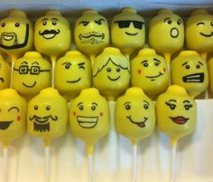 cake pop faces