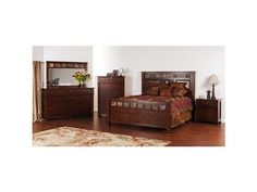 Shop+for+Sunny+Designs+Santa+Fe+Bedroom+Set,+2322DC,+and+other+Master+Bedroom+Sets+at+Schmitt+Furniture+Company+in+New+Albany,+IN.