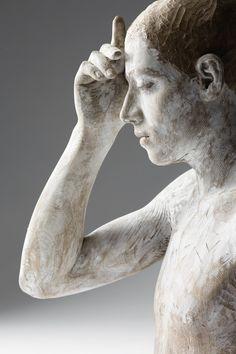 Human sculptures by Bruno Walpoth | iGNANT.de