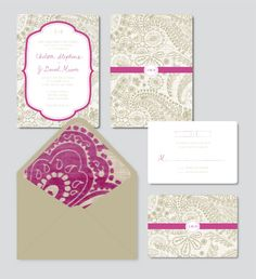 I'll admit, this project was Michelle's brainchild. I found this glorious fabric at High Fashion Home right after getting engaged and fell in love. I knew I needed it incorporated into the weddin...