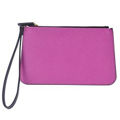 ZMSnow Womens Wrist Bag Genuine Leather Clutch Cellphone Purse Wallet BagZMSNB107purple * Learn more by visiting the image link.