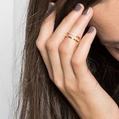 BaubleBar Ice Lateral Midi Ring, $24 | 25 Delicate Bits Of Bling For Under $25