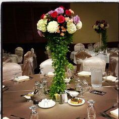Wedding flower center piece