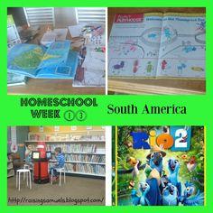 Raising Samuels Homeschool: #Homeschool Week 13: South America