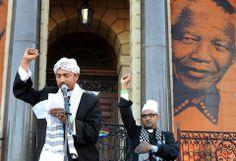 Sheikh Ebrahim Gabriels & Imam Rashied Omar -  Participating in the City of Cape Town's Interfaith Prayer Service for our Tata Madiba