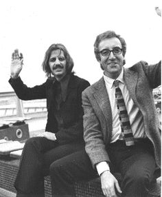Ringo Starr and Peter Sellers