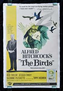 The Birds Alfred Hitchcock Vintage-Style Horror Movie Poster Print Alfred Hitchcock The Birds, Jessica Tandy, Good Movies, Iconic Movies, Classic Movies, Rhyme And Reason, Fright Night, Movie Poster Art, Monster Art