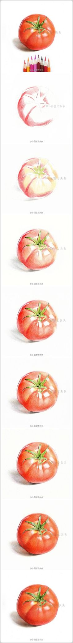 Colorin tomato step by step