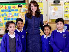 In the latest move in her ongoing campaign to help kids tackle difficulties, she hosts a roundtable talk as she helps kick off Children's Mental Health Week for one of her key charities