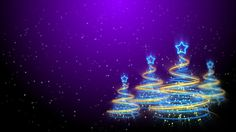 Merry Christmas Trees Background 63 (HD)