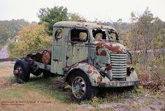 Hot Rod Trucks, Big Rig Trucks, Gmc Trucks, Cool Trucks, Pickup Trucks, Vintage Tractors, Vintage Trucks, Abandoned Cars, Abandoned Vehicles