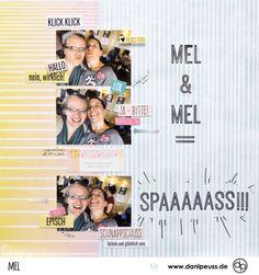 Mel & Mel | Layout mit dem Julikit | von Mel für www.danipeuss.de