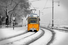 Pictures of Budapest, Hungary - Stock Photos Winter Photography, Fine Art Photography, Budapest Winter, Street Image, Colouring Pics, Most Beautiful Cities, Commercial Vehicle, Budapest Hungary, Color Street