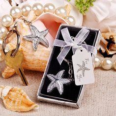 Brilliant starfish key chain Wedding Favors Cheap, Beach Wedding Favors, Bridal Shower Favors, Wedding Ideas, Fish Wedding, Dream Wedding, Wedding Stuff, Wedding Inspiration, Wedding Planning