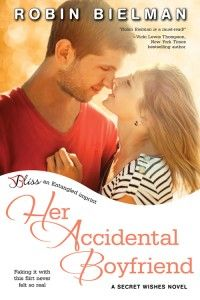 Her Accidental Boyfriend by Robin Bielman  She's got a secret past. It's no secret he's a player. Can one fake relationship bring them together?