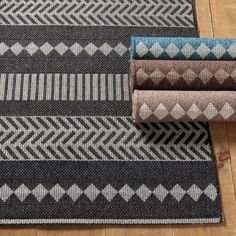 Cali Indoor/Outdoor Rug Shop for a fabulous Cali Striped Indoor Outdoor Area Rug at Ballard Designs today and add a decorator floor accent you'll love. Get our Cali Striped Indoor Outdoor Area Rug to spice up your living space! Cottage Dining Rooms, Rugs In Living Room, Farmhouse Area Rugs, Entry Mats, Laundry Room Inspiration, Patio Rugs, Indoor Outdoor Area Rugs, Outdoor Living, Geometric Rug
