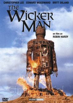 The Wicker Man Swedish dvd cover