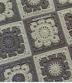 Transcendent Crochet a Solid Granny Square Ideas. Inconceivable Crochet a Solid Granny Square Ideas. Crochet Square Blanket, Granny Square Crochet Pattern, Crochet Blocks, Afghan Crochet Patterns, Crochet Squares, Crochet Granny, Crochet Motif, Crochet Stitches, Granny Squares