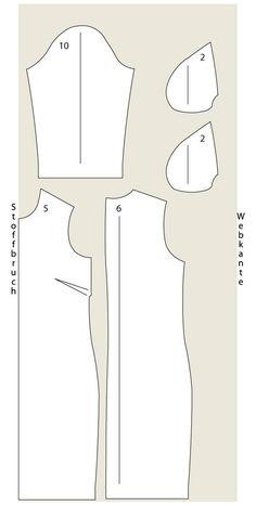 Schmal geschnitten und mit Reißverschluss im Rücken: Das Etuikleid nähen wir aus buntem Baumwollstoff und mit 3/4-Ärmeln.