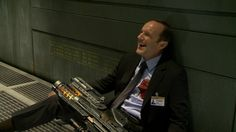 The Avengers BTS - Agent Coulson
