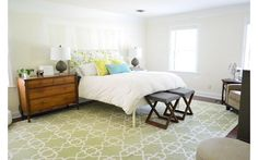 Trendy bedroom - bedroom idea - Home and Garden Design Ideas