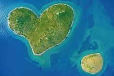 Galesnjak Island, Croatia Welcome to the island of love. A few kilometers from Zadar, the Galesnjak Island, also known as Cupid Island is the only island in the world with a heart shape.  https://www.spottocamp.com/en/search?q=Gale%25C5%25A1njak%252C%2520Croatia&lng=15.3846242&lat=43.9787249  #Galesnjak Island #Croatia #camping #campgrounds #explore #holiday #nomads #travel #spottocamp #tent #bestdestinations #hiking #wanderlust #nature #offthegrid